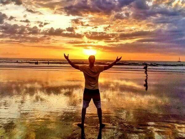 Beautiful Costa Rican Sunset.
