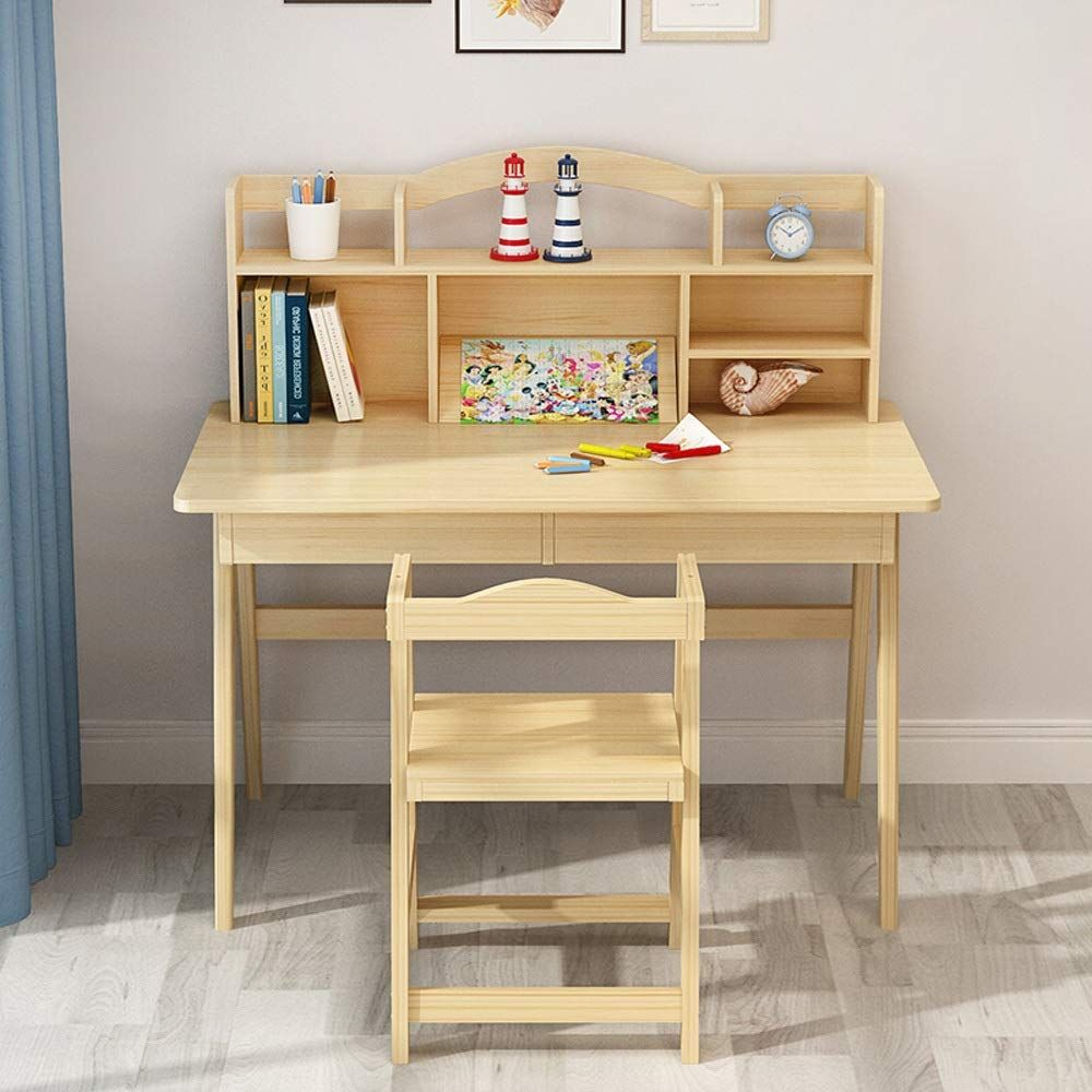 Qiupei Multi Functional Desk And Chair Set Children S Desk Bedroom Student Desk Great Gift For Girls And In 2020 Kids Furniture Sets Desk And Chair Set Childrens Desk