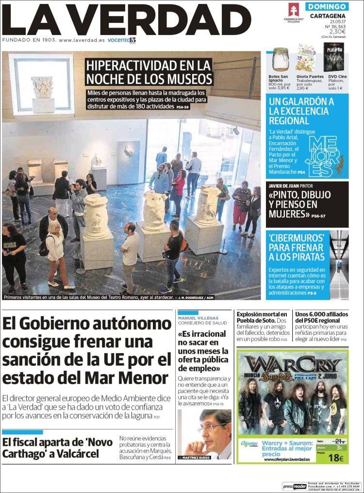 ABC DE LA MAR MENOR: Tenemos Gobierno!!!, Día 201...