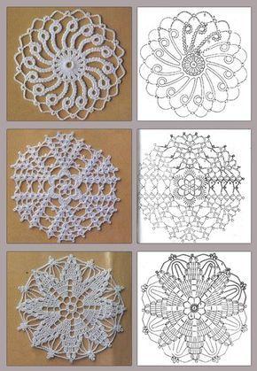 Delicadezas en crochet Gabriela: Colección motivos circulares ...
