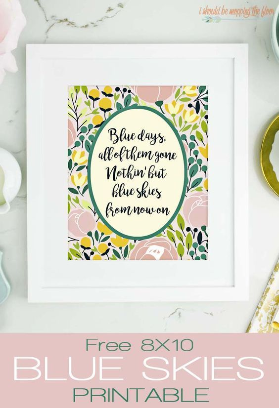 Pretty Free Spring Printables Spring Art For Your Home Spring