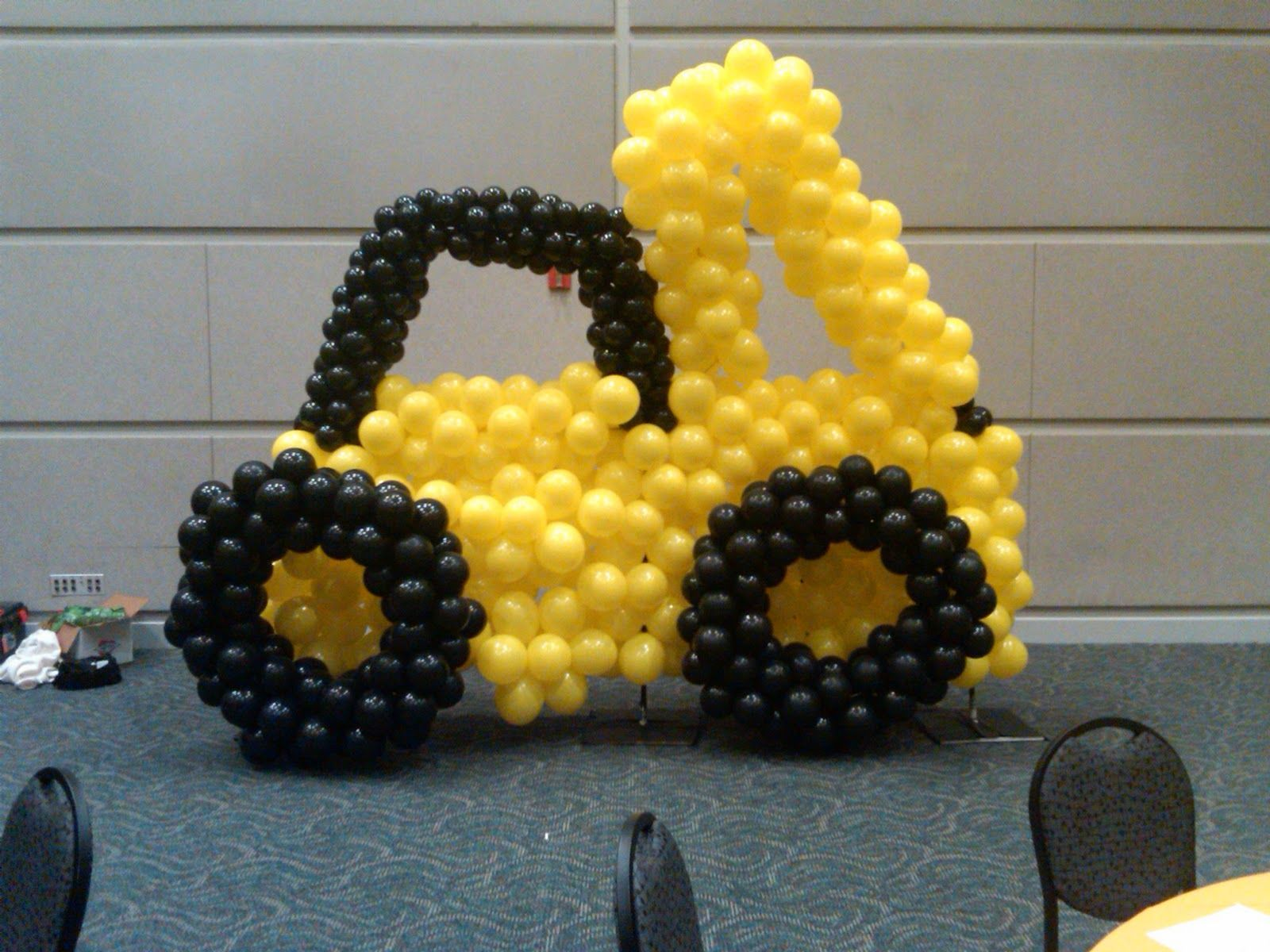 Front end loader | Balloons | Pinterest | Construction party