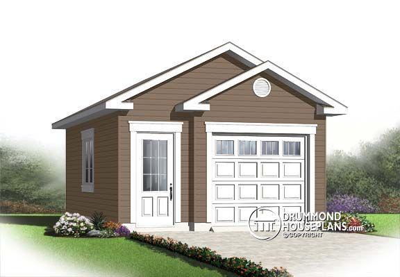 Garage Plan W2992 16 Detail From Drummondhouseplans Com Building A Garage Garage Plan Garage Plans Detached