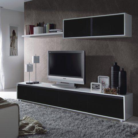 Ensemble Mural Tv Adis Meuble Tv 3 Suisses Meuble Tele Design