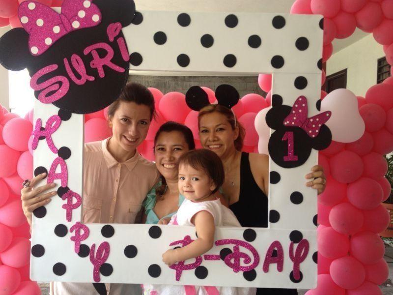 Mega Marco para fotos fiestas!! Minie Mouse Suri 1 | party ideas ...