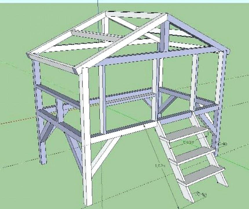 Plan Lit Cabane Plan Lit Lit Of Plan Lit Construire Lit Cabane Montessori
