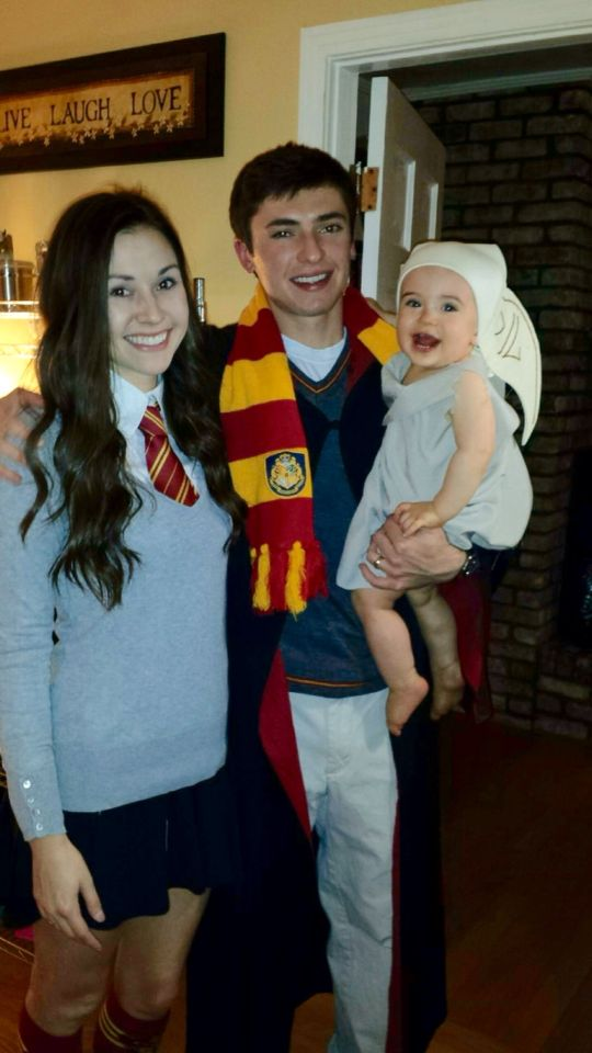 Harry potter hermione granger and dobby the house elf diy costumes halloween pinterest - Deguisement hermione granger ...