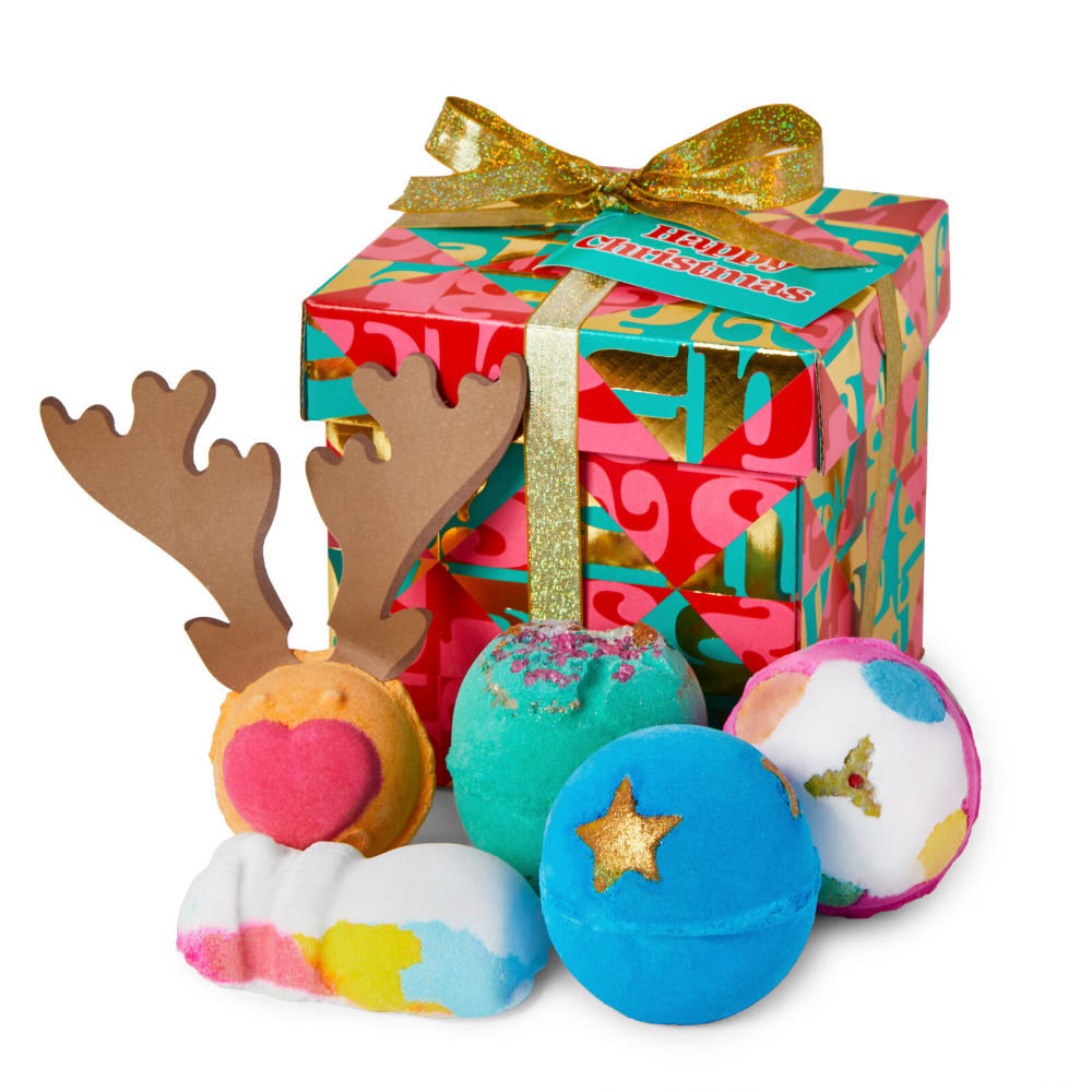 Happy Christmas Gifts Sets Lush Fresh Handmade Cosmetics Happy Christmas Gifts Christmas Gift Sets Happy Christmas