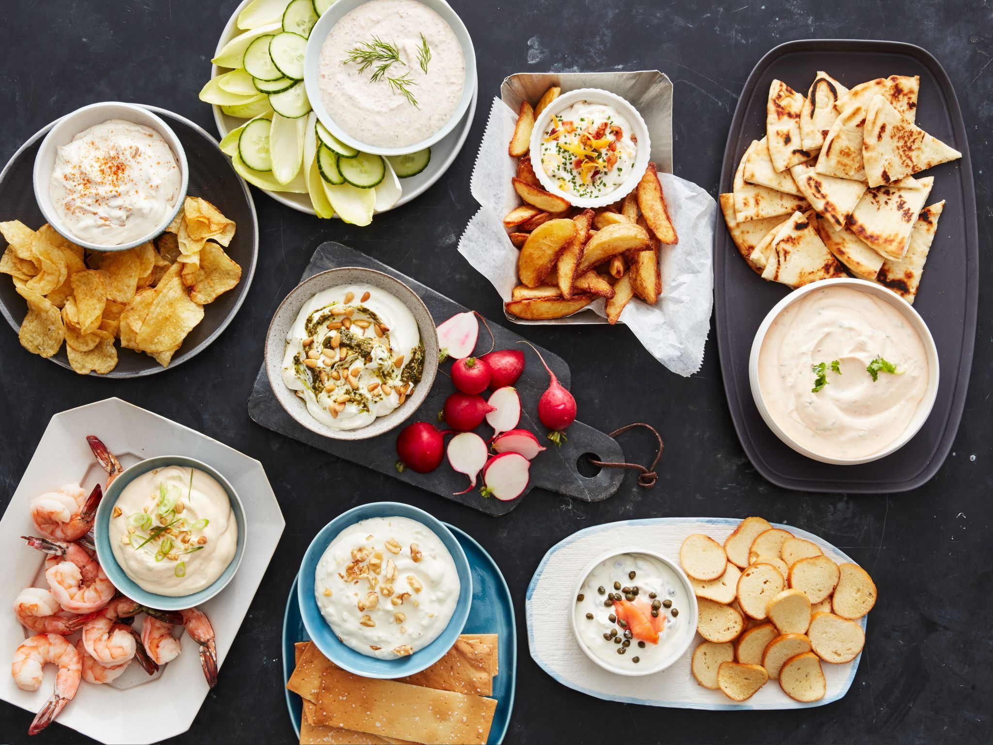 Easy Party Dip Recipes And Ideas Food Network Food Network