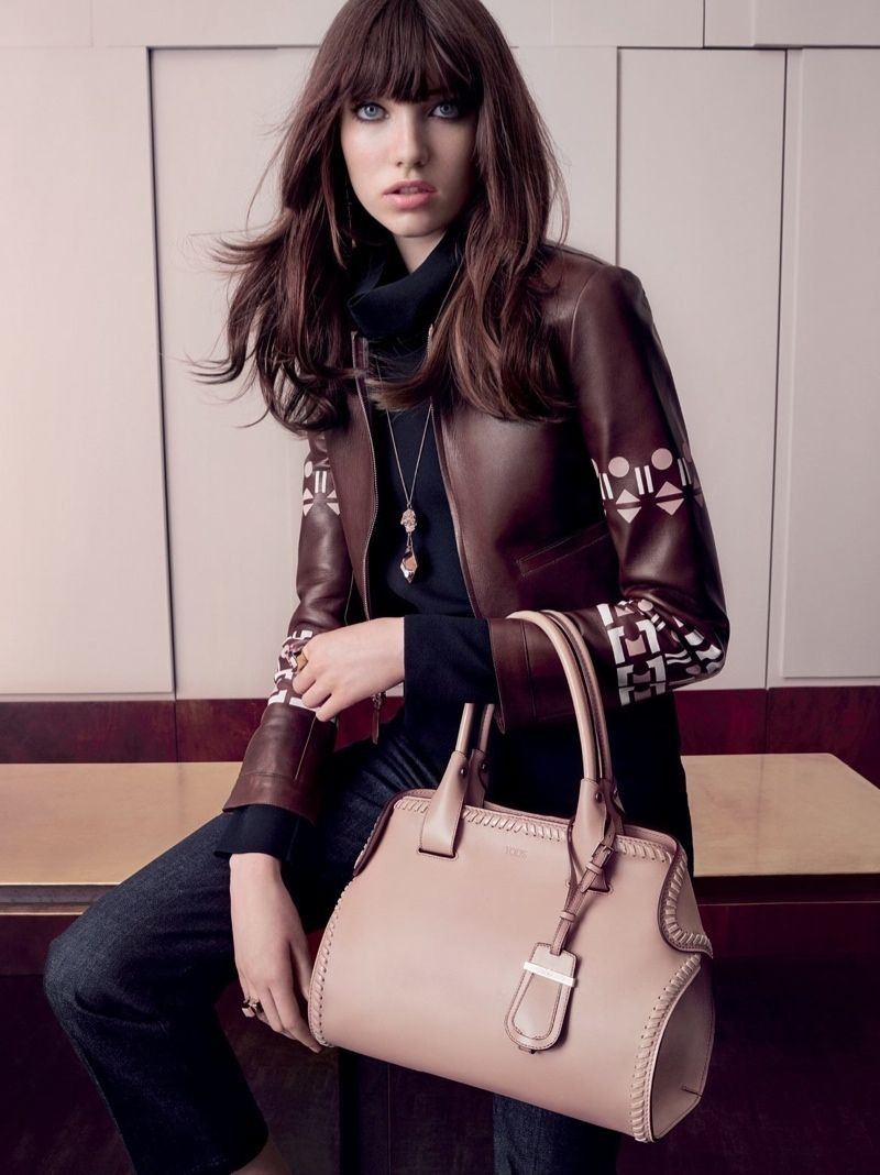 Grace Hartzel Fronts Tod's Fall 2015 Campaign