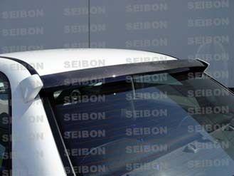 Seibon Carbon Fiber Roof Spoiler For 06 Sti Sti Car Wrx Subaru Impreza