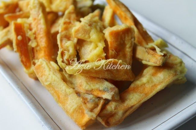 Azie Kitchen Kaki Ayam Aka Ubi Keledek Goreng Makanan