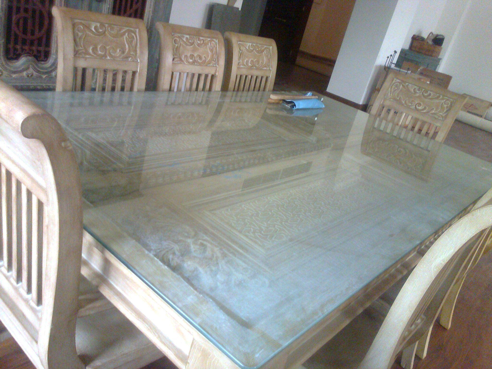 ترابيزة سفرة باستخدام باب قديم Dining Table Using An Old Door Dinning Table Table Furniture