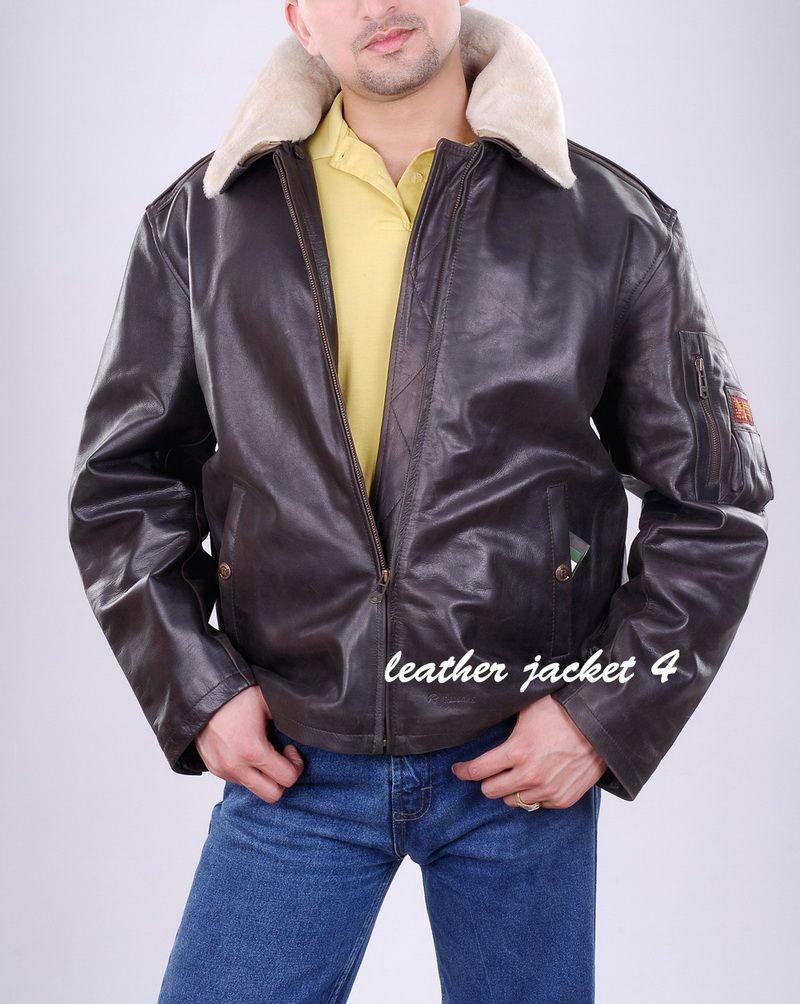Usaaf Pattern Bi Swing Back A Genuine Silky Lambs Wool Shearling Mouton Fur Collar Zipper Sleeve Pocket Full Z Jackets Leather Jacket Athletic Jacket [ 1004 x 800 Pixel ]