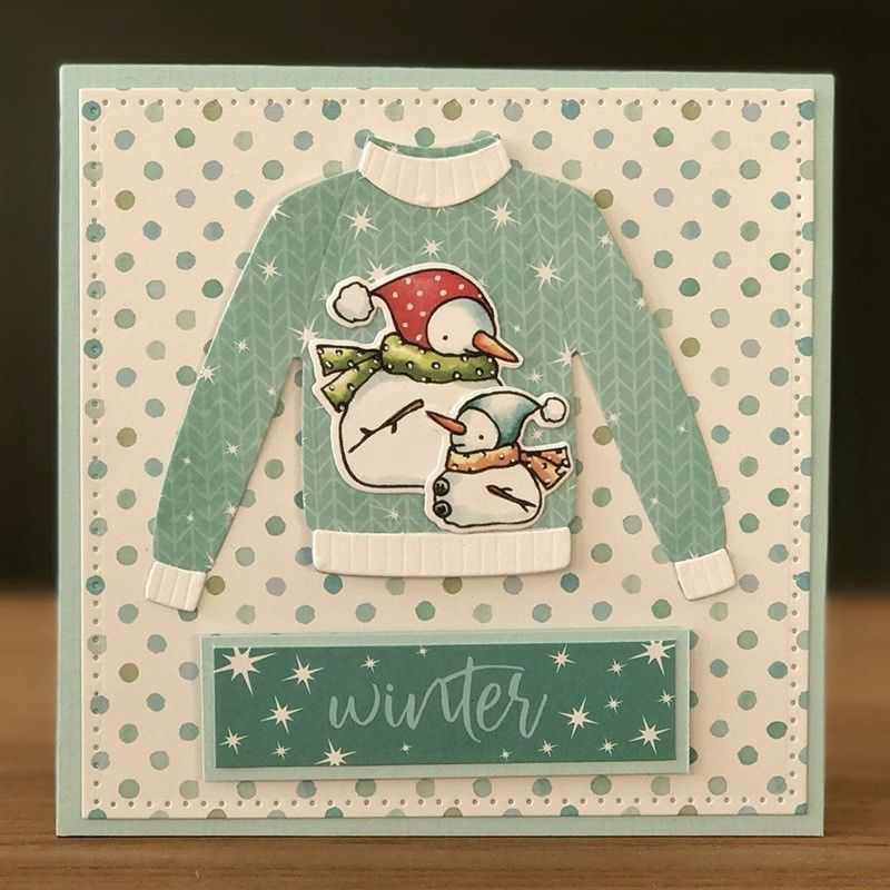 Novelty Xmas Greeting Cards Cutting Dies Stencil Scrapbook Paper Cards CraftLD