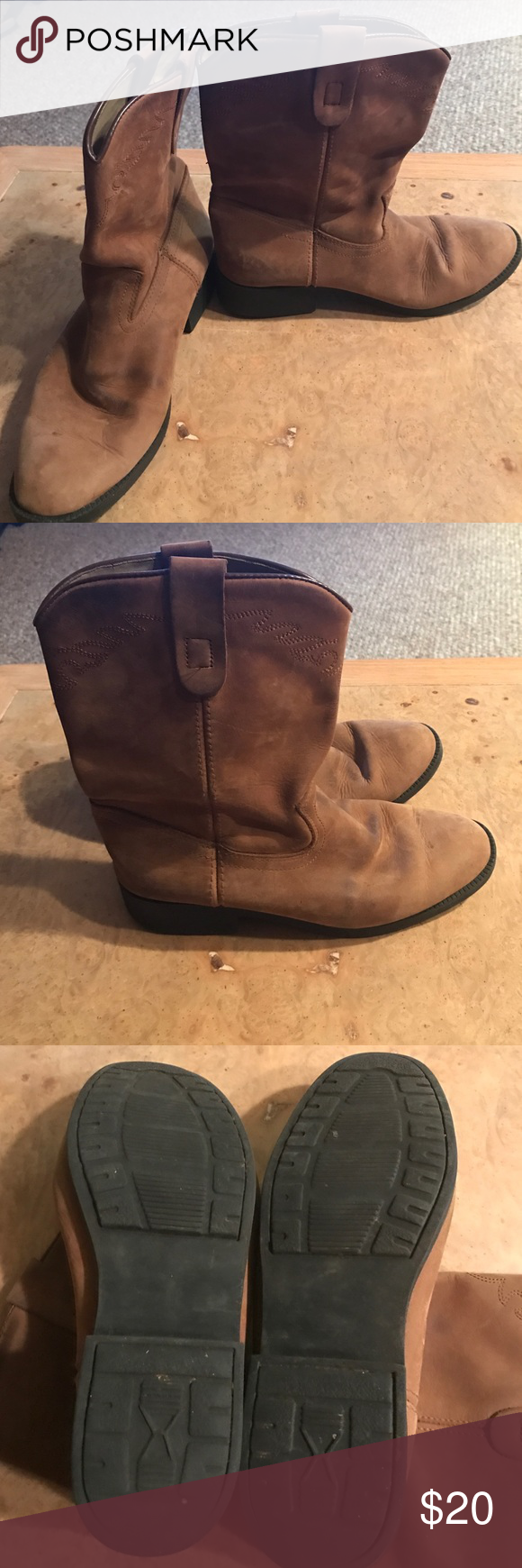 Dan Post boots Dan Post boots GUC size 5.5 Dan Post Shoes Ankle Boots & Booties