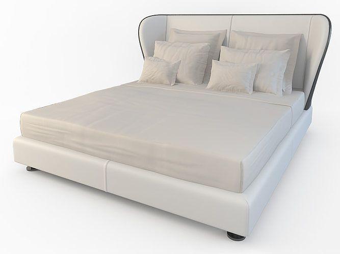 bed rea 3d model max 4 Bed, Bed design, Furniture