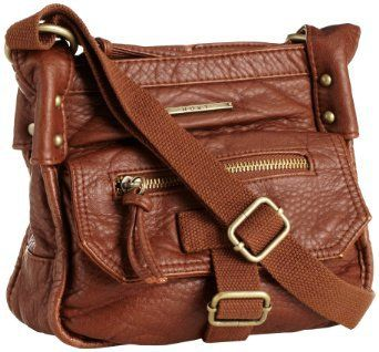 Roxy Juniors Admiral Crossbody Bag, Brown, One Size: Clothing ...
