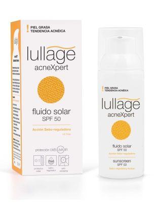 Lullage acneXpert - Alta protección solar para la piel grasa o con tendencia acneica.