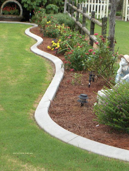 southern landscape curbing