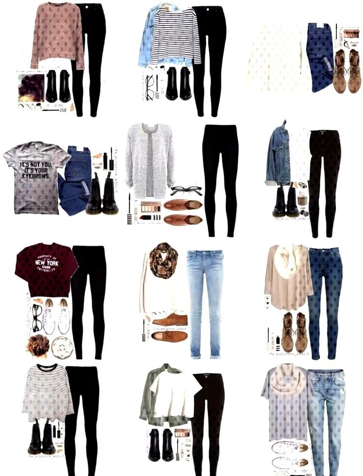 33 Awesomely Cute Back To School Outfits For High School cute back to school out... - -