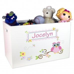 Open Top Toy Box