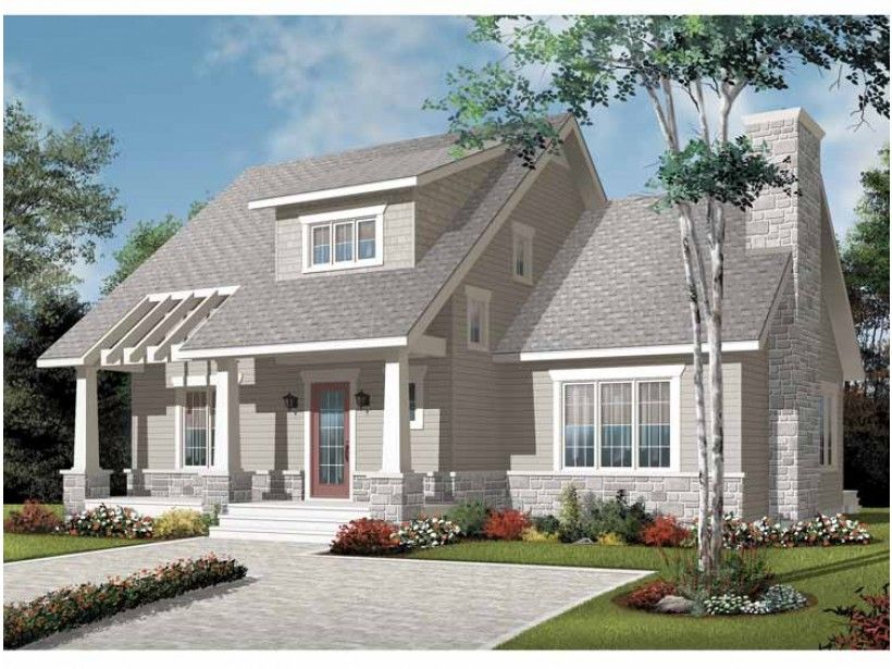 Build your ideal home with this Craftsman house plan with 3 bedrooms(s), 2 bathroom(s), 2 story, and 1801 total square feet from Eplans exclusive assortment of house plans.