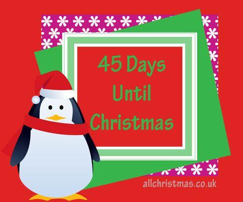 45 Days Until Christmas | All Christmas Blog | All Christmas ...