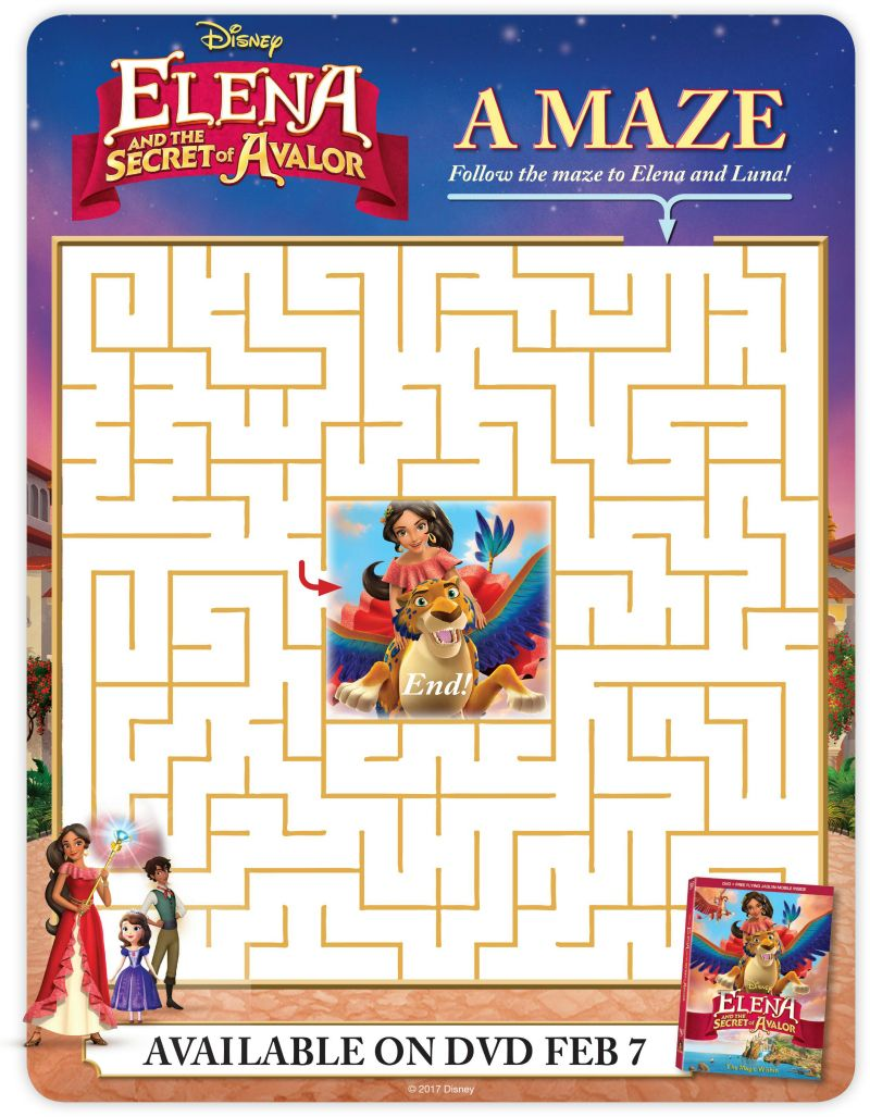 Disney elena and the secret of avalor maze books and movies disney elena and the secret of avalor maze robcynllc Image collections