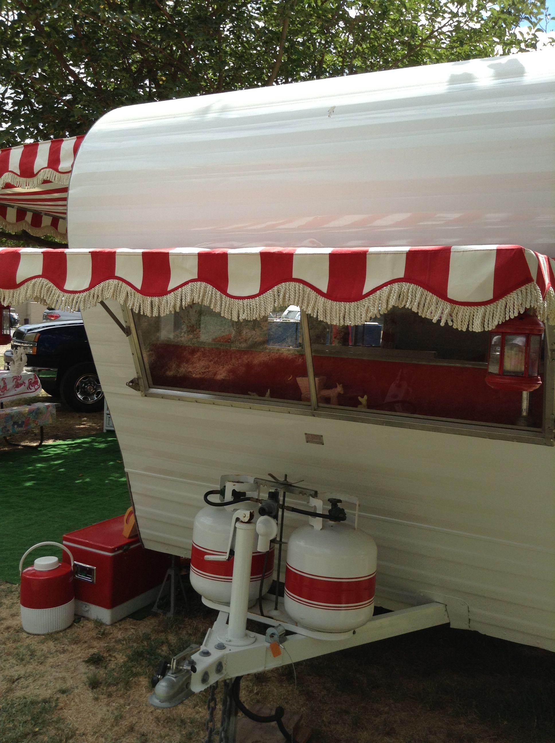 Lodi, CA vintage trailer rally