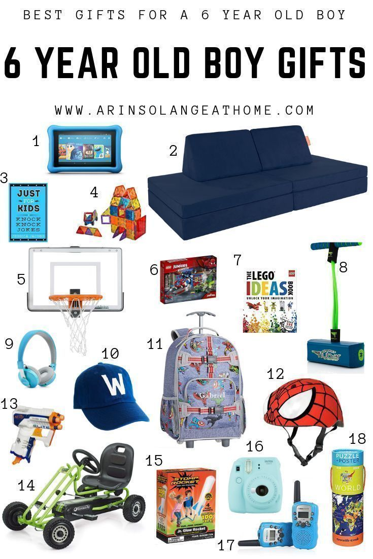 Best Gifts for a 6 Year Old Boy | Christmas gifts for boys ...