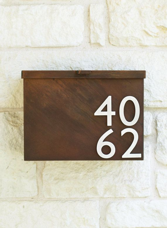 You've Got Mail Mailbox w/ Silver or Brass Address Numbers