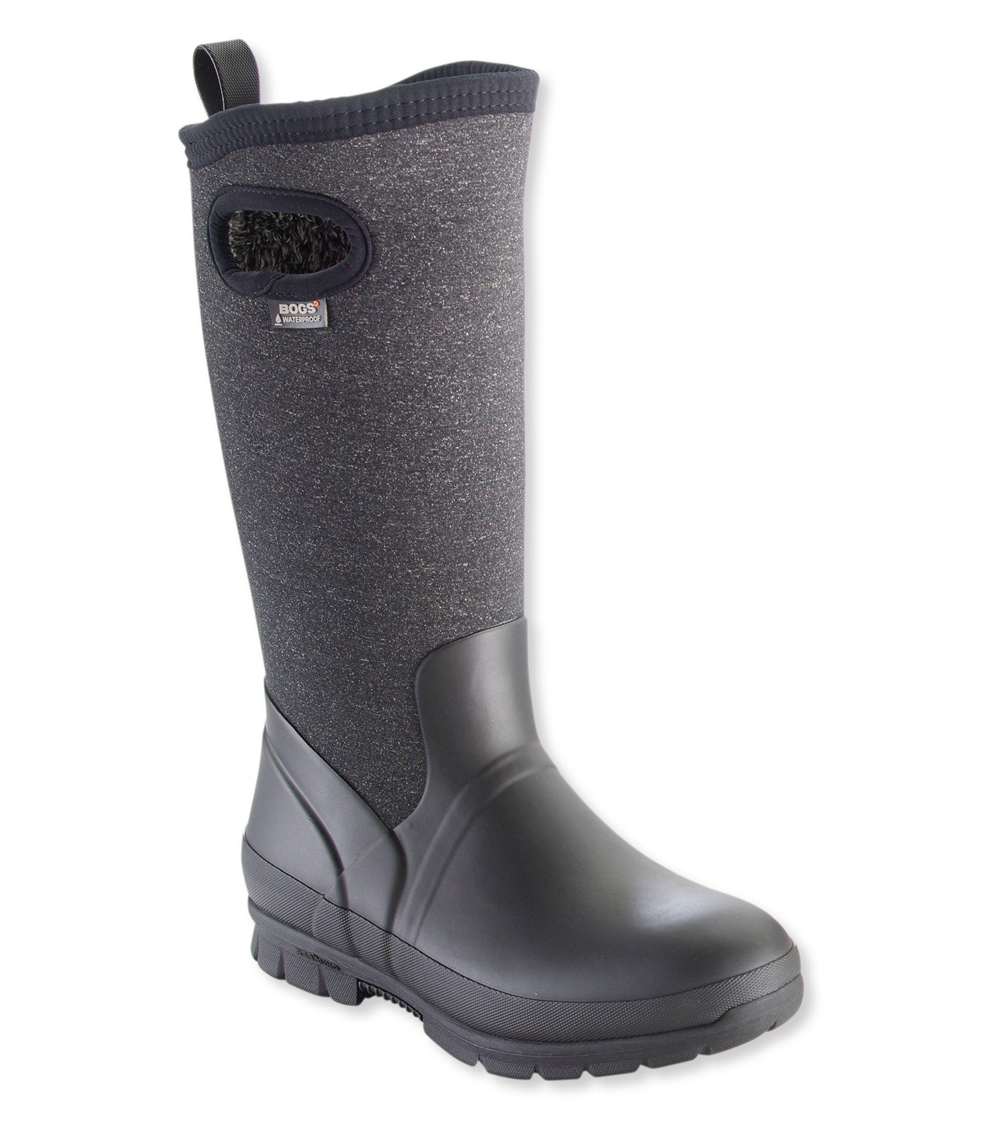 BOGS CRANDALL TALL Ladies Womens Waterproof Wellies Wellington Boots Dark Grey