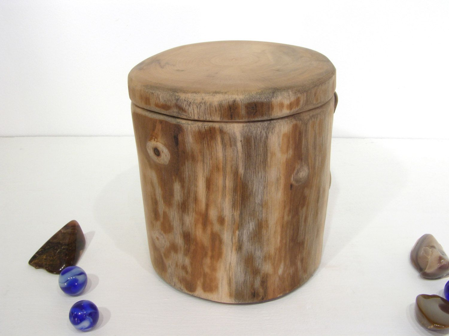 Oregon Myrtlewood Tree Branch Box Small Cremation Urn