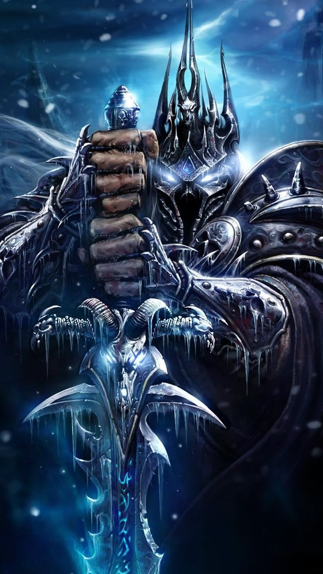 World Of Warcraft Death Knight Iphone 5s Wallpaper Iphone 5 Se