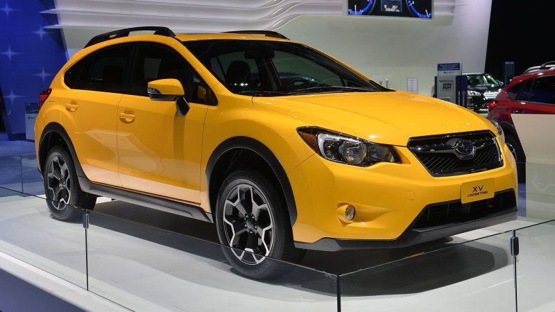 2015 Subaru Xv Crosstrek Special Edition Shows Its Shining Face To The Detroit Crowd Subaru Crosstrek Subaru Subaru Cars