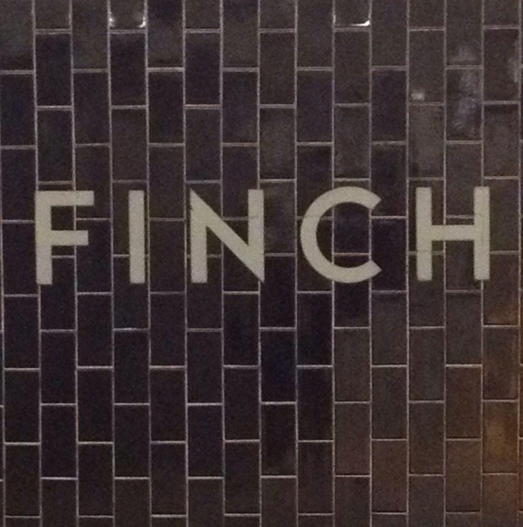 Finch Subway Station Ttc Toronto Ontario Canada