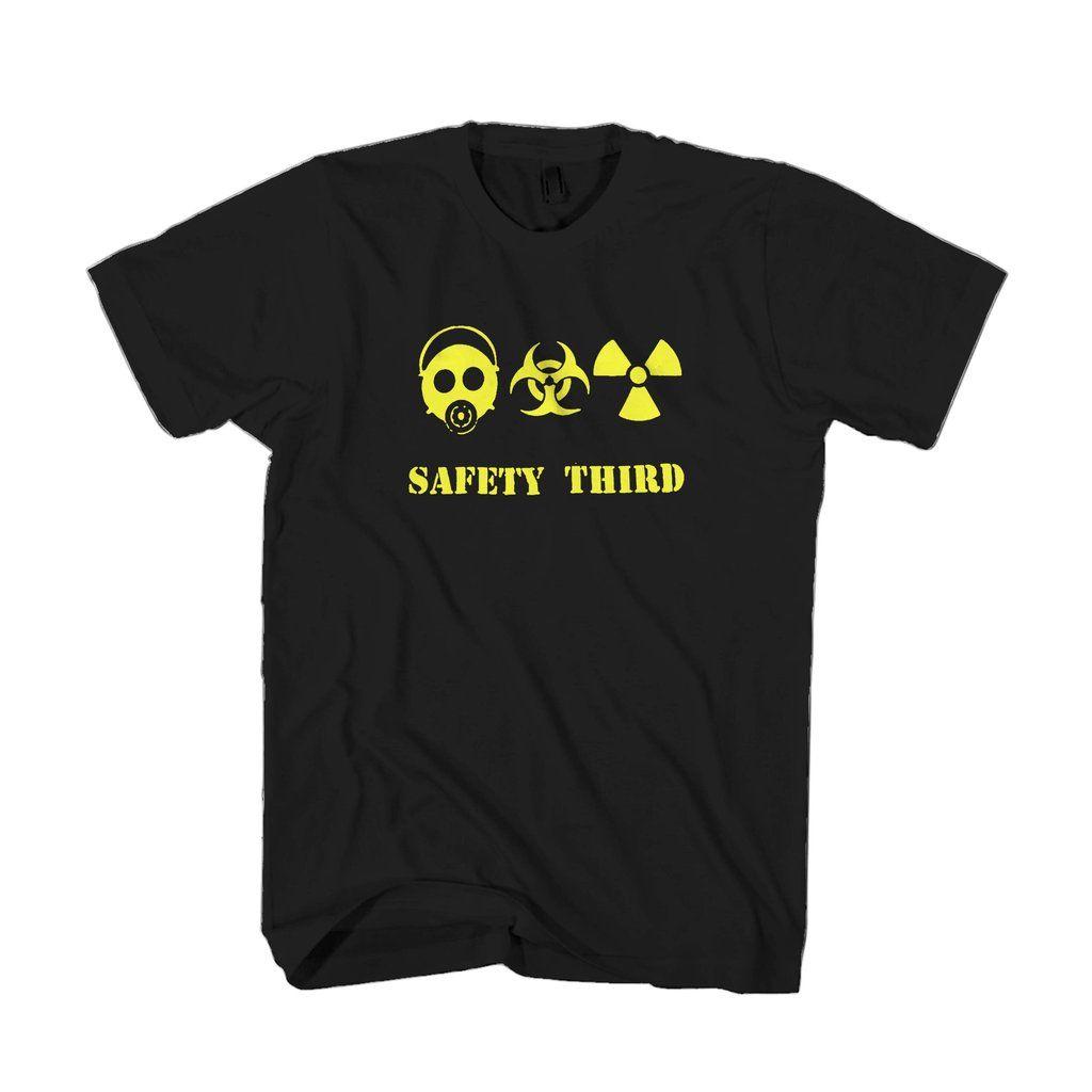 Triple threat safety third gas mask biohazard radioactive