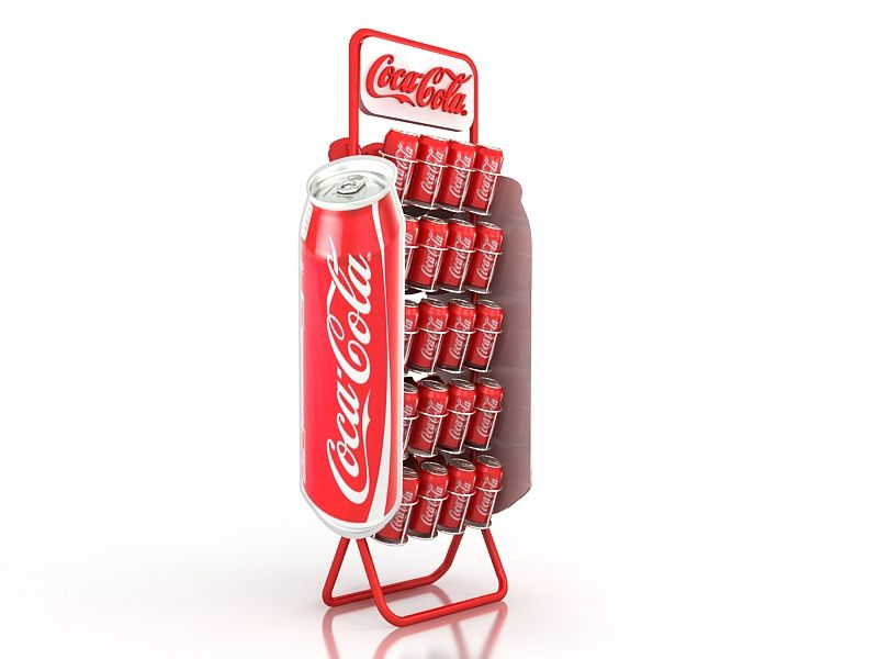 coke Can Stand on Behance Retail Display Pinterest - coca cola merchandiser sample resume