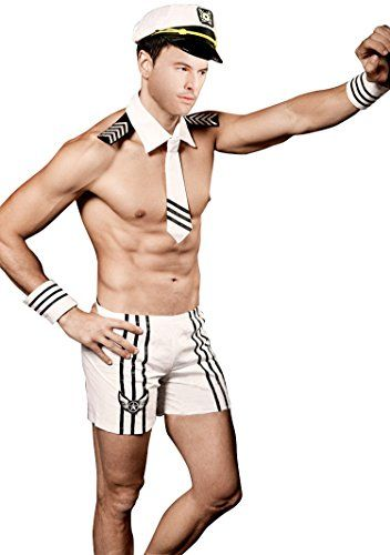 Men Sexy Sailor Costume Outfit lingerie -- Click image for more details. (This is an affiliate link) #HotNewReleases  sc 1 st  Pinterest & Men Sexy Sailor Costume Outfit lingerie -- Click image for more ...