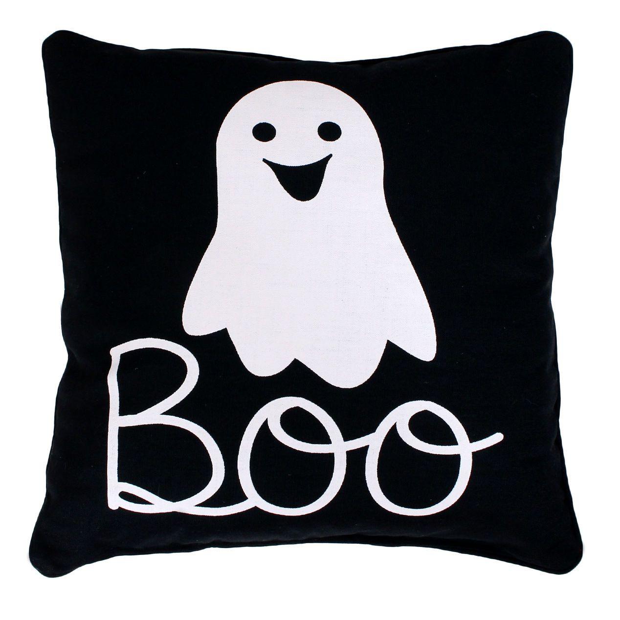 Barry Boo Ghost Pillow 18X18 Ghost pillow, Halloween