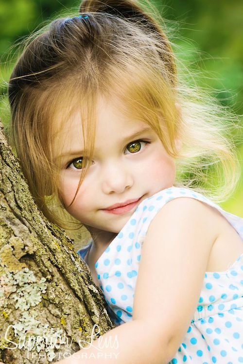 Eyes Match Her Hair Beautiful Children Cute Kids Beautiful Babies