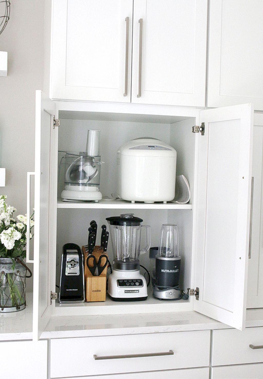 60 Smart Kitchen Cabinet Organization Ideas | Kitchen cabinet ...