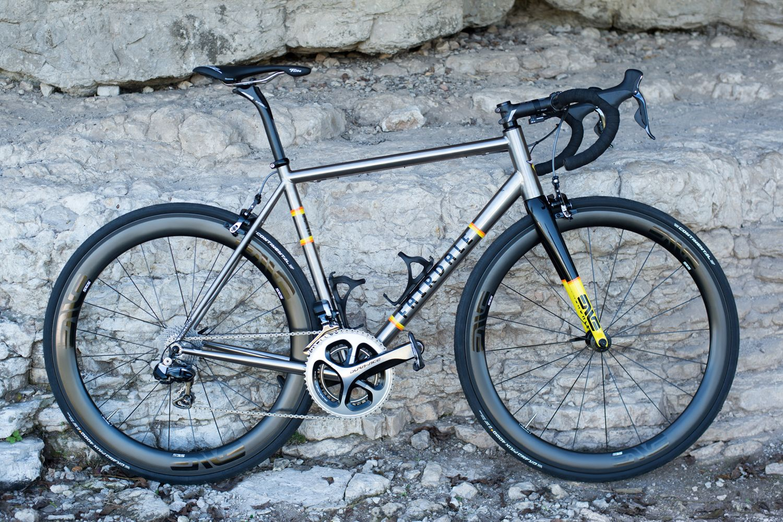 The Spaceship Titanium Road Bike Gravel Bike Bicycles Bike