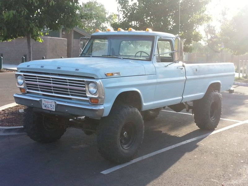 For Sale 1969 Ford F250 Highboy 4x4 Classic Ford Trucks Ford