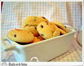 Brujita en la Cocina: Galletas de leche condensada y chips