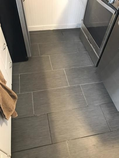 Pin By Lpickron On Bathroom Project Flooring House Flooring Small Bathroom Redo