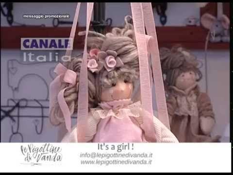 Tutorial n.22: it's a girl! | Le Pigottine di Vanda