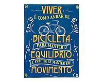 Box Decorativo Bicicleta - 30x40cm