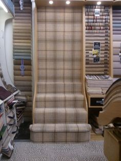 Best Tartan Carpet With Images Carpet Stairs Tartan Stair 400 x 300